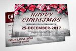 圣诞节邀请卡