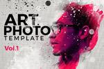 艺术照片智能图层