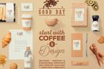 咖啡主题包装样机