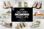 快餐食品包装样机