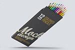 铅笔包装样机
