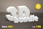 3D特效字母