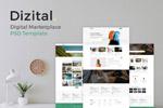 数字交易网站模板