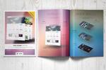 网页设计宣传画册