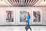 艺术展览海报样机