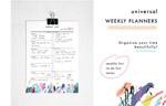 周计划行程规划模板