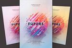 未来海报模板