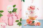 春季鲜花海报