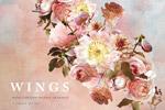 数码花卉艺术插画
