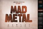 金属质感3D文字样式