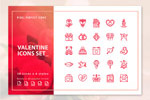 50个情人节图标