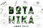 简约优雅Logo模板