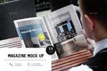 A4杂志样机模板