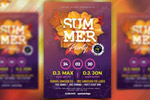 夏季音乐派对海报