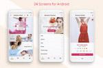 时尚商务App模板