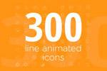 300线动画图标