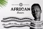 非洲图案和笔刷