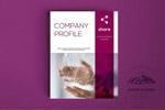 紫色企业画册