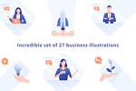 24幅商业插图