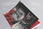欧美艺术杂志模板