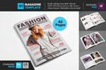 时尚个性杂志模板