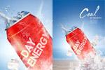 能量饮料海报