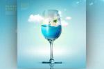 玻璃杯里世界海报