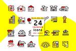 24房地产图标