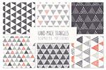 三角几何图形纹理