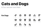 68个狗猫图标