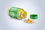 药丸透明瓶样机